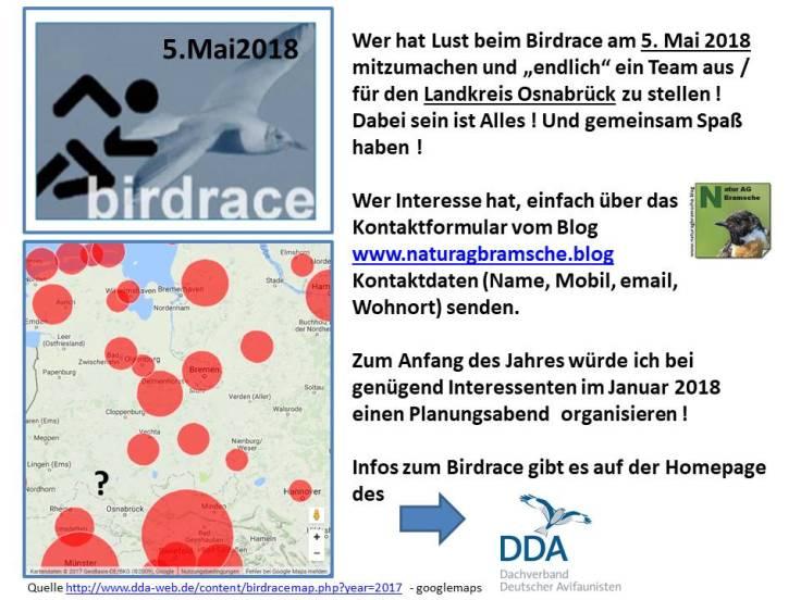 Birdrace 2018 Team OS