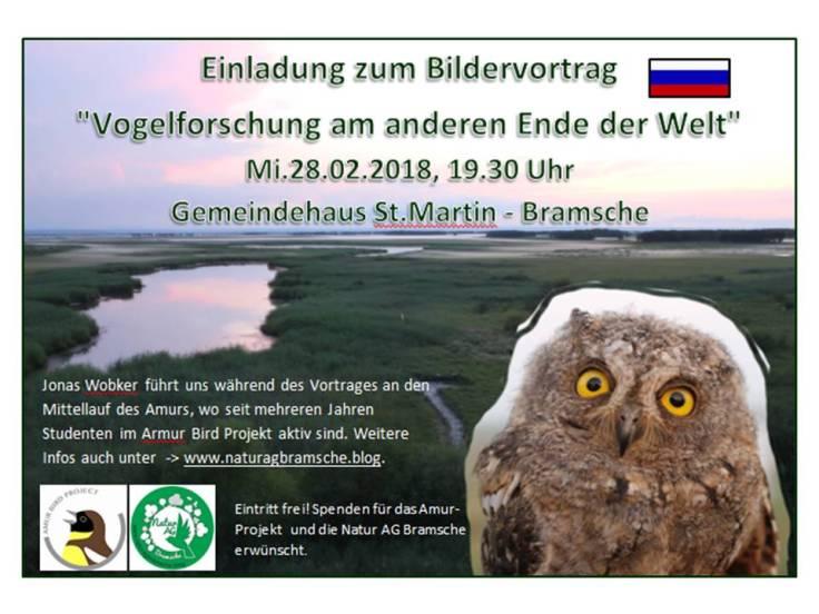 Vortrag JW Voglforschung am anderen Ende der Welt 280218