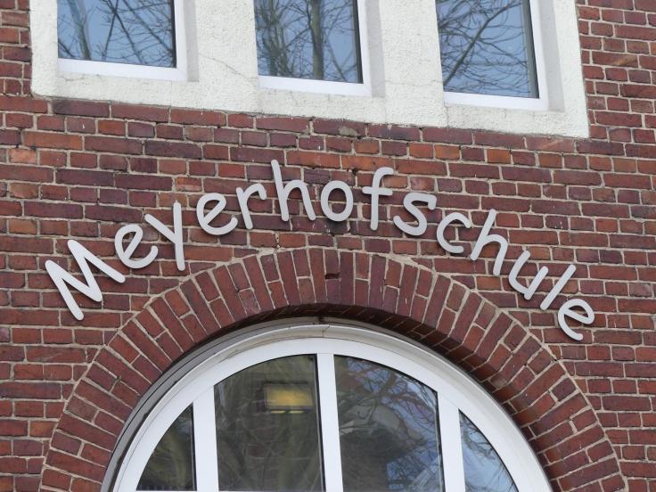Meyerhofschule Schriftzug